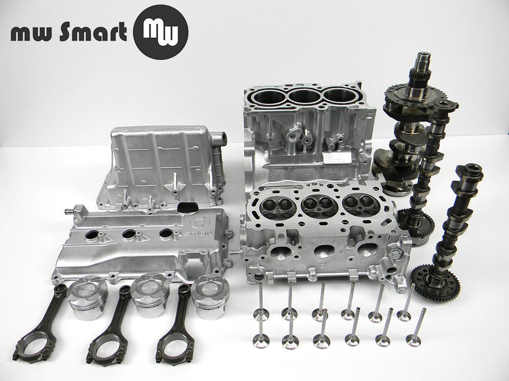 at motor smart fortwo 451 999ccm inkl einbau