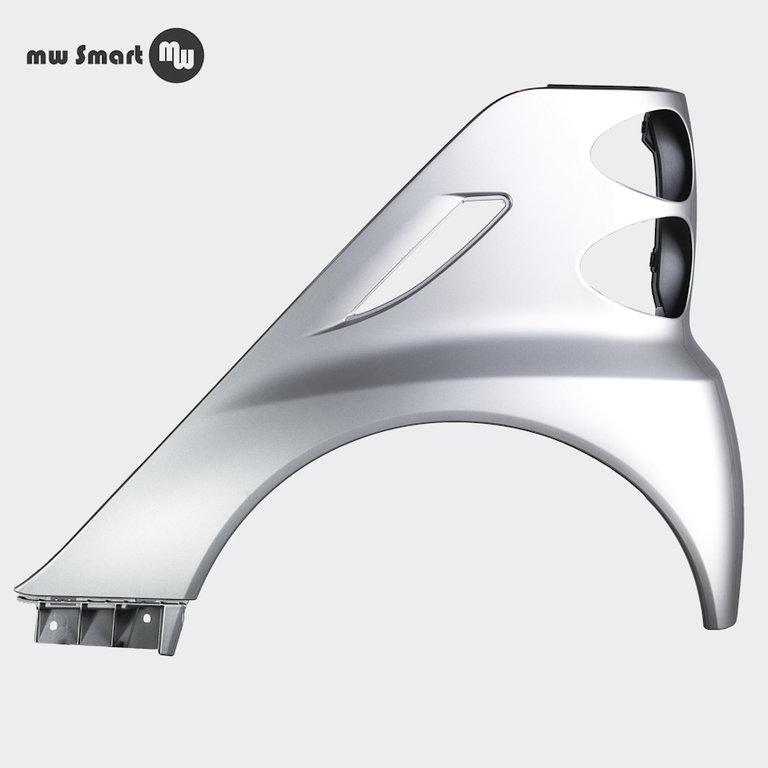 kotfl gel smart 451 coupe cabrio silber metallic neu hl. Black Bedroom Furniture Sets. Home Design Ideas