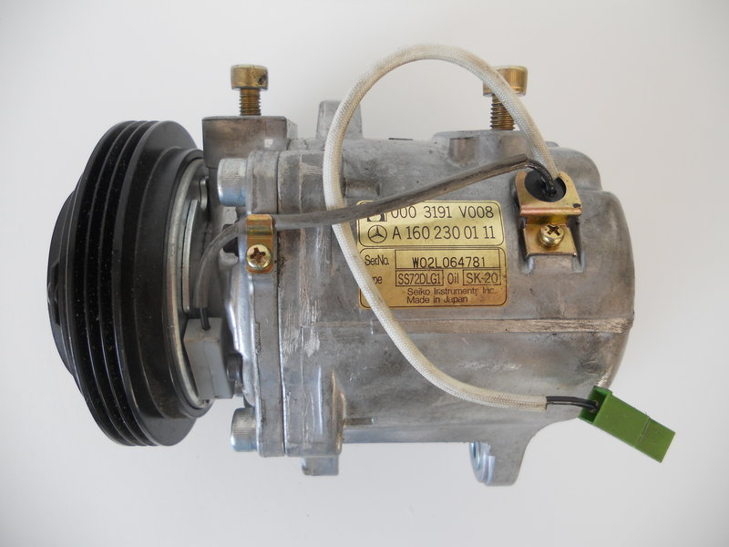klimakompressor smart 450 smart roadster a1602300111