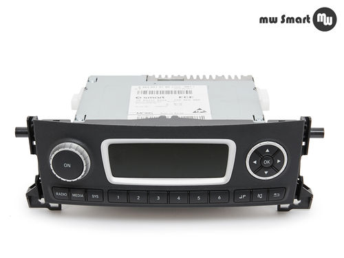 Radio Smart Fortwo 451 Facelift A4519019700